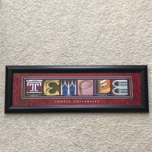 Temple University Framed Print